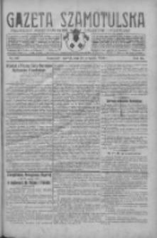 Gazeta Szamotulska: niezależne pismo narodowe, społeczne i polityczne 1930.09.16 R.9 Nr107