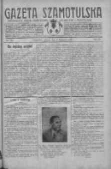 Gazeta Szamotulska: niezależne pismo narodowe, społeczne i polityczne 1930.11.04 R.9 Nr128