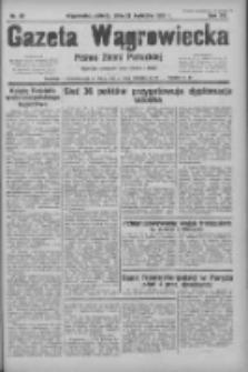 Gazeta Wągrowiecka: pismo ziemi pałuckiej 1935.04.27 R.15 Nr98