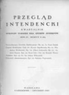 Przegląd Intendencki. 1929 R.4 zeszyt 4(16)
