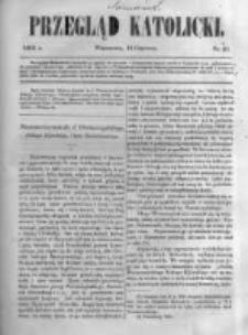 Przegląd Katolicki. 1863.06.11 R.1 nr23