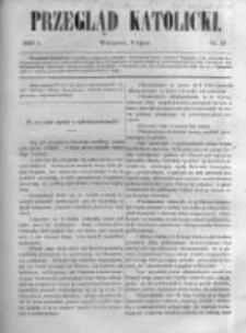 Przegląd Katolicki. 1863.07.09 R.1 nr27