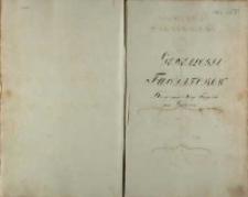 Genealogia Fundatorów Kongregacyi Xięży Filippinów pod Gostyniem