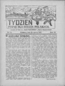 """Tydzień: pismo dla rodzin polskich: dodatek niedzielny do """"Gazety Szamotulskiej"""" i """"Gazety Międzychodzkiej"""" 1927.03.20 R.3 Nr11"""