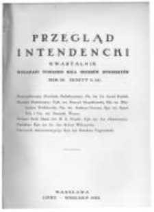 Przegląd Intendencki. 1928 R.3 zeszyt 3(11)