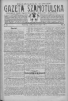 Gazeta Szamotulska: niezależne pismo narodowe, społeczne i polityczne 1931.02.28 R.10 Nr25