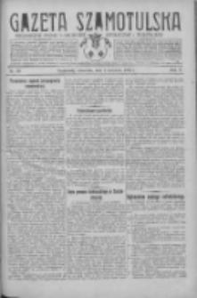 Gazeta Szamotulska: niezależne pismo narodowe, społeczne i polityczne 1931.04.02 R.10 Nr39
