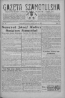 Gazeta Szamotulska: niezależne pismo narodowe, społeczne i polityczne 1931.06.06 R.10 Nr65