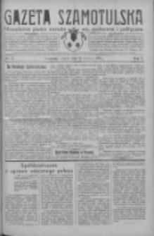 Gazeta Szamotulska: niezależne pismo narodowe, społeczne i polityczne 1931.06.23 R.10 Nr72