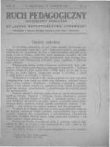 Ruch Pedagogiczny. 1913 R.2 nr6