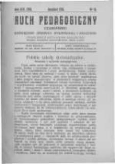 Ruch Pedagogiczny. 1926 R.13(15) nr10