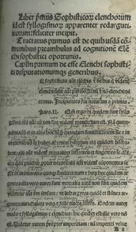 Textus Elenchorum Aristotelis
