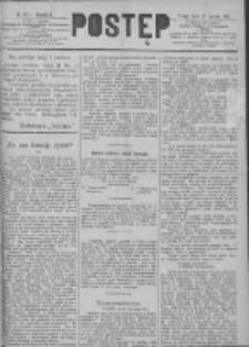 Postęp 1891.01.28 R.2 Nr22