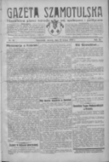 Gazeta Szamotulska: niezależne pismo narodowe, społeczne i polityczne 1932.02.23 R.11 Nr21