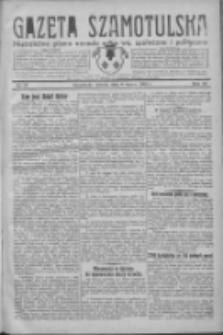 Gazeta Szamotulska: niezależne pismo narodowe, społeczne i polityczne 1932.03.08 R.11 Nr27