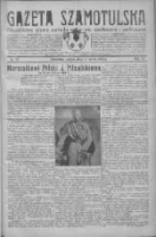 Gazeta Szamotulska: niezależne pismo narodowe, społeczne i polityczne 1932.03.19 R.11 Nr32
