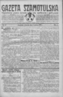 Gazeta Szamotulska: niezależne pismo narodowe, społeczne i polityczne 1932.06.02 R.11 Nr62
