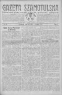 Gazeta Szamotulska: niezależne pismo narodowe, społeczne i polityczne 1932.06.09 R.11 Nr65