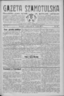 Gazeta Szamotulska: niezależne pismo narodowe, społeczne i polityczne 1932.09.20 R.11 Nr107