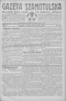 Gazeta Szamotulska: niezależne pismo narodowe, społeczne i polityczne 1932.09.29 R.11 Nr111