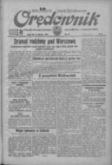 Orędownik: ilustrowane pismo narodowe i katolickie 1934.01.10 R.64 Nr6