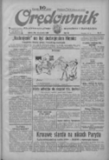 Orędownik: ilustrowane pismo narodowe i katolickie 1934.01.13 R.64 Nr9