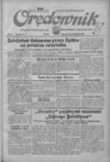 Orędownik: ilustrowane pismo narodowe i katolickie 1934.01.25 R.64 Nr19