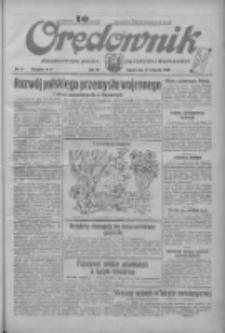 Orędownik: ilustrowane pismo narodowe i katolickie 1934.01.27 R.64 Nr21