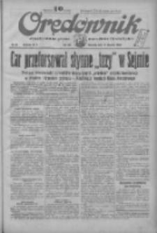 Orędownik: ilustrowane pismo narodowe i katolickie 1934.01.28 R.64 Nr22