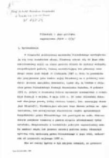 Piłsudski i jego polityka zagraniczna (1926-1935)