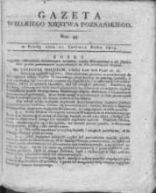 Gazeta Wielkiego Xięstwa Poznańskiego 1815.06.21 Nr49