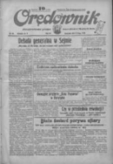 Orędownik: ilustrowane pismo narodowe i katolickie 1934.02.08 R.64 Nr30