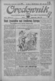 Orędownik: ilustrowane pismo narodowe i katolickie 1934.02.11 R.64 Nr33