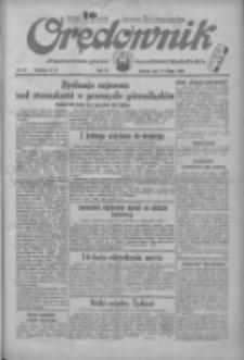 Orędownik: ilustrowane pismo narodowe i katolickie 1934.02.13 R.64 Nr34