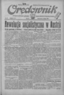 Orędownik: ilustrowane pismo narodowe i katolickie 1934.02.14 R.64 Nr35