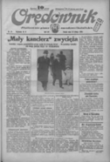 Orędownik: ilustrowane pismo narodowe i katolickie 1934.02.16 R.64 Nr37