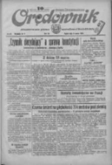 Orędownik: ilustrowane pismo narodowe i katolickie 1934.03.09 R.64 Nr55