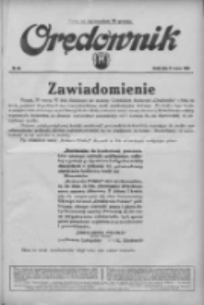 Orędownik: ilustrowane pismo narodowe i katolickie 1934.03.22 R.64 Nr65
