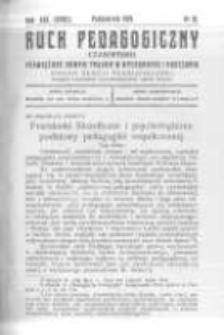 Ruch Pedagogiczny. 1929 R.16(18) nr10