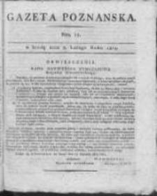 Gazeta Poznańska 1815.02.08 Nr11