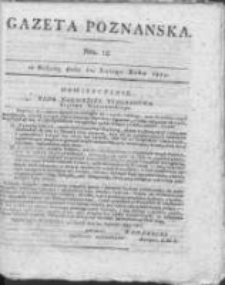 Gazeta Poznańska 1815.02.11 Nr12
