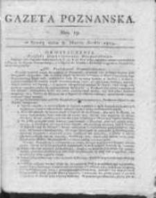 Gazeta Poznańska 1815.03.08 Nr19
