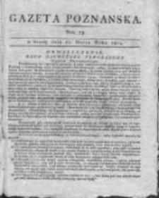 Gazeta Poznańska 1815.03.22 Nr23