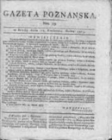 Gazeta Poznańska 1815.04.12 Nr29