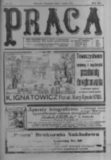 Praca: tygodnik polityczny i literacki, illustrowany. 1911.05.07 R.15 nr19