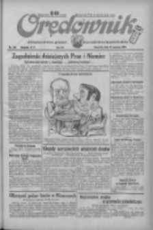 Orędownik: ilustrowane pismo narodowe i katolickie 1934.06.21 R.64 Nr138