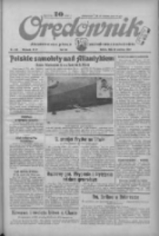 Orędownik: ilustrowane pismo narodowe i katolickie 1934.06.23 R.64 Nr140