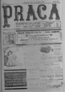 Praca: tygodnik polityczny i literacki, illustrowany. 1911.09.10 R.15 nr37