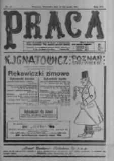 Praca: tygodnik polityczny i literacki, illustrowany. 1911.11.19 R.15 nr47