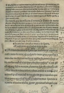 Introductorium compendiosum in Tractatum spere materialis [...] Joannis de Sacrobusto quem abbreviavit ex Almagesti[...] Ptholomei Claudii [...] per [...] Joannem Glogoviensem [...]
